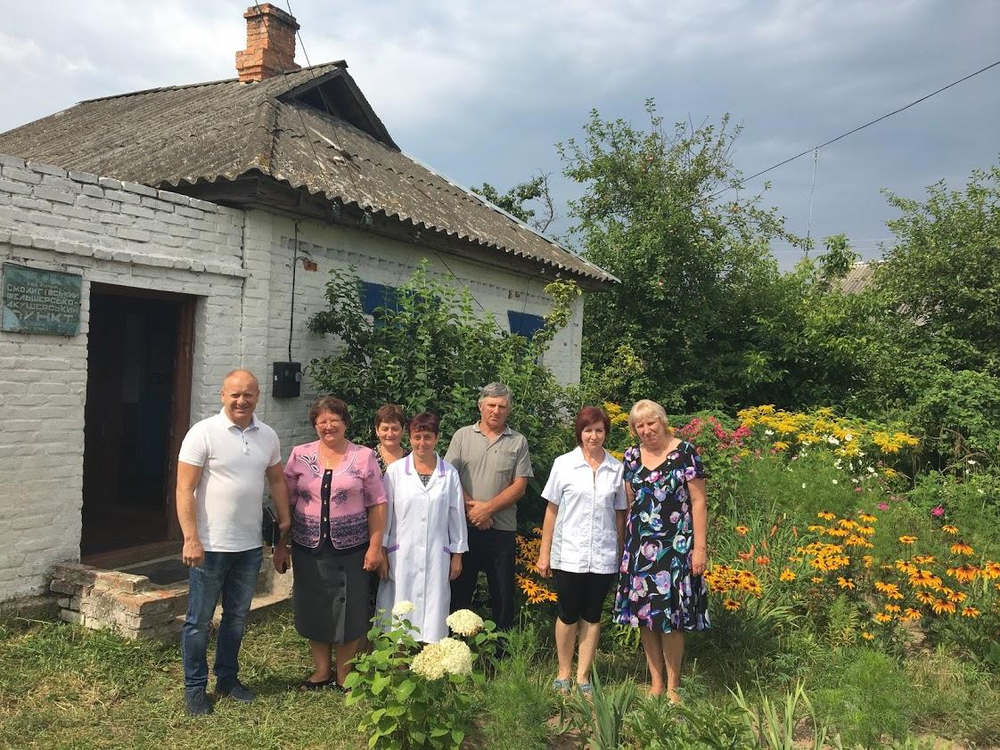 Проведено ремонти у фельдшерських пунктах сіл Малинівка та Смолигівка